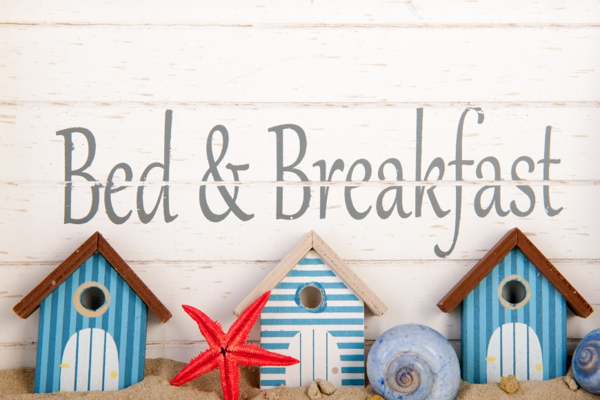 Bed and breakfast at the coast